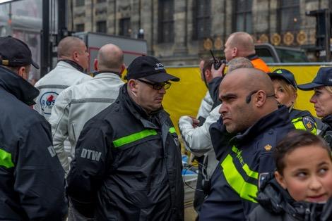 samenwerking rosa security politie Amsterdam beveiliging